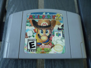 Mario Party 2 Nintendo 64 game