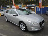 2011 61 PEUGEOT 508 1.6 HDI ACTIVE SW ESTATE IN SILVER # LOW MILEAGE #