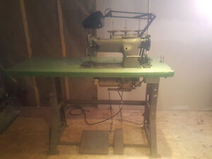 Seiko STW-8B Industrial Sewing Machine and table for sale