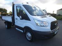 2015 FORD TRANSIT 2.2 TDI 125 MWB ONE STOP TIPPER RWD *BUY FROM £95 P/W* TIPPER