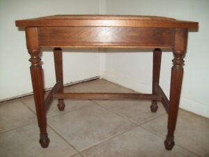 ANTIQUE PIANO/ DRESSING TABLE BENCH  LIFT TOP LID