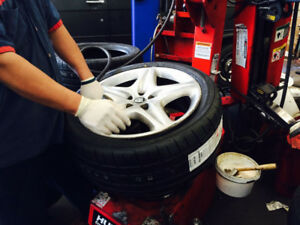 Tire Changes - Same Day Service - Mount and Balancing - $60