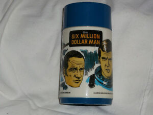 Six Million DolMan thermos