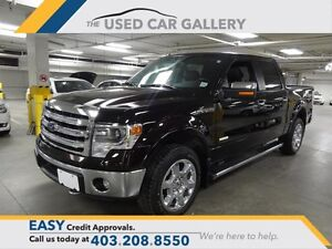 "2014 Ford F150 4x4 - Supercrew Lariat - 145"" WB"
