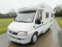 Adria Coral 580 SP - 2004 - Rear Fixed Bed - Low Profile