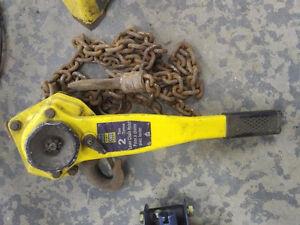 Engine Car 2 Ton chain lever hoist puller