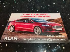 Ford mondeo breaking breakers