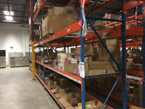 USED PALLET RACKING 75% OFF. LOWEST PRICE ON KIJIJI READY JULY 1
