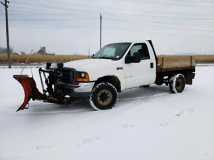 Have snow to move but no plow?