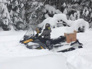 Tundra FreeStyle BackCountry  550 cc, a Fan,  2007  et SeatJack