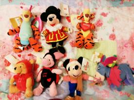 Disney Soft/plush toys bundle