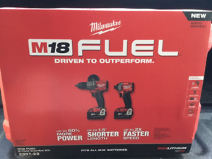 Milwaukee M18 FUEL 18-Volt Brushless Hammer Drill & Impact