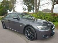 BMW 325I 3.0 M SPORT 2008 COMPLETE WITH M.O.T HPI CLEAR INC WARRANTY