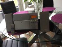 Panasonic wall mountable CD player /radio.