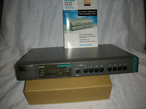 D-Link DFE-808 Stackable 8 Port 100Base-TX Fast Ethernet Hub