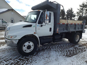 2006 4300 INTERNATIONAL SINGLE AXEL DUMP TRUCK