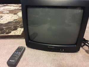 """Sharp 13"""" TV"""