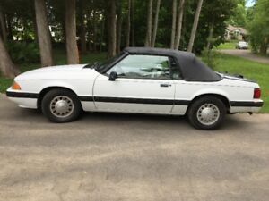 Classic 1991 Ford Mustang Convertible