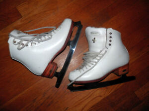 2 pairs of good quality women's figure skates (Jackson, Riedell)
