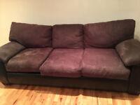 3 sofas avec coussin inclut