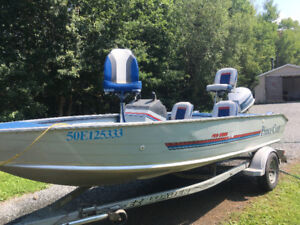 Prince craft boat for sale.90hp