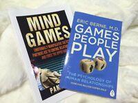 Mind games, manipulation technics books brand new