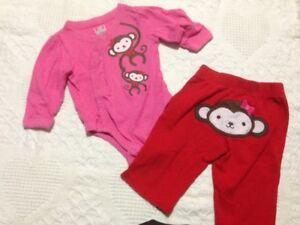 Girls 3-6 month outfit