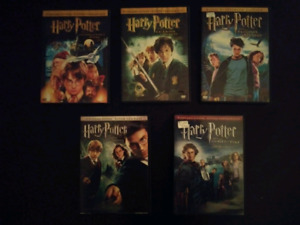 Harry Potter movies (5 DVD's)