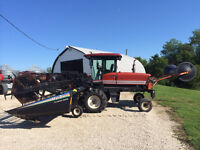 MacDon Premier 2950 Swather - 30ft; loaded up