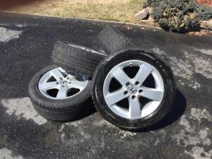 4 mags avec pneus d'été