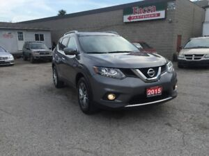 2015 Nissan Rogue SL SUV AWD LEATHER  NAVIGATION SAFETY&E-TEST