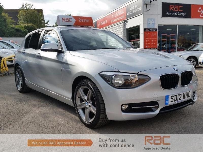 BMW 1 SERIES 118D SPORT 2012 Diesel Manual in Silver