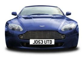 Number Plate for sale JO53 UTD
