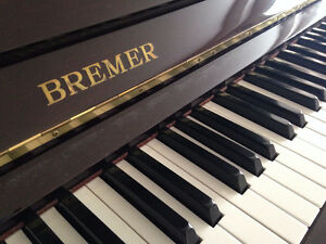 BREMER Belgium-made Genuine Wooden Upright Piano SALE