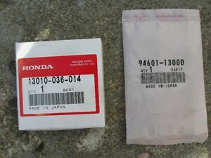 Honda Z50 Piston rings