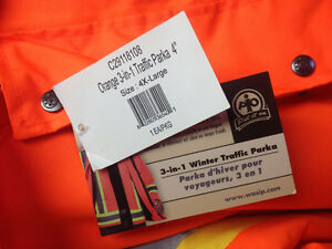 Winter insulated safety parka and bibs Cornwall Ontario image 3