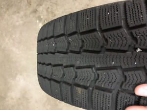 Pirelli Ice control winter tires 195/55/R15.