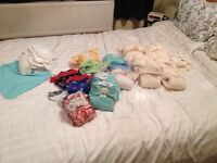 Bundle of around 25 cloth nappies