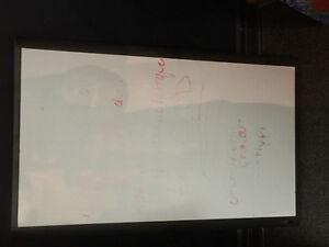 TABLEAU BLANC effacable avec crayon spécifique