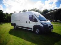 LHD LEFT HAND DRIVE VAN Peugeot Boxer 3.0 HDi 2014 ONLY 7000 MILES