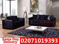 Crushed Velvet 3+2 Sofa--Best Quality