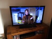Sharp 40 Inch 1080p Freeview HD TV, LED style- Exc Con, Remote, Fully Working, NO OFFERS