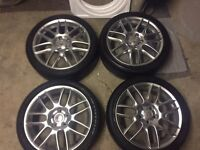 BBS Supercopa Wheels. Goodyear Eagle F1 tyres. 225/40/18. Seat/Audi/VW