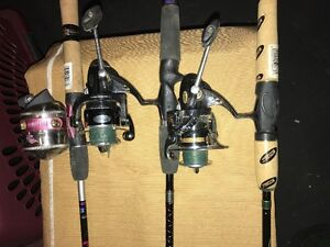 3 fishing rod and reel