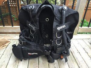 Mares Large Syncro Tech BCD