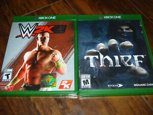 2 Xbox One Games WW 2K15 and Thief $15 for pair