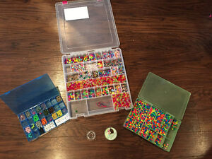 Beads for bracelets and crafts