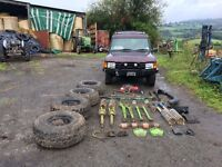 Land Rover Discovery 3.9 efi v8 LPG off road project