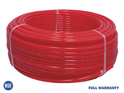 12 X 1000ft Pex Tubing Oxygen Barrier O2 Evoh Red 1000 Ft Radiant Floor Heat
