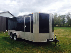 7 x 16 Tandem Axle Enclosed Cargo Trailer
